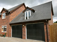 manaul roller garage doors sadleworth